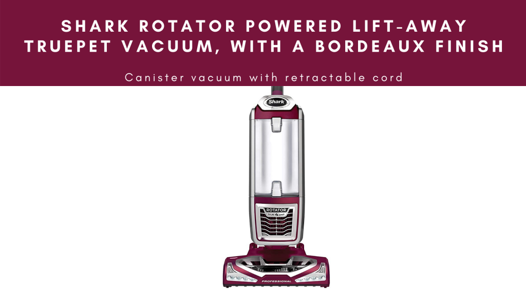 best retractable cord vacuum