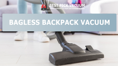 Photo of For Allergy Sufferers: Bagless Backpack Vacuum