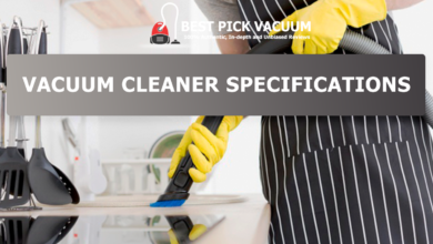Photo of For Customer's Guidance: Vacuum Cleaner Specifications